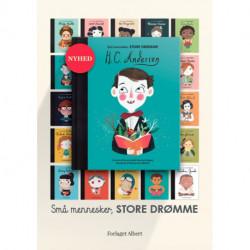 Plakater H.C. Andersen i serien Små mennesker, store drømme