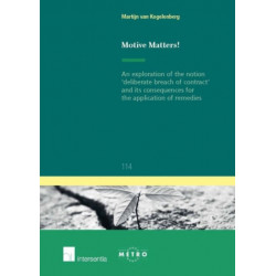 Motive Matters!: An Exploration of the Notion 'deliberate Breach of Contract' and Its Consequences for the Application of Remedies