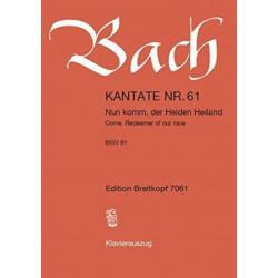 CANTATA BWV 61 NUN KOMM DER HEIDEN HEILA