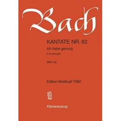 CANTATA BWV 82 ICH HABE GENUNG GENUG IT