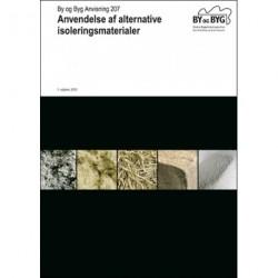 Anvendelse af alternative isoleringsmateriale