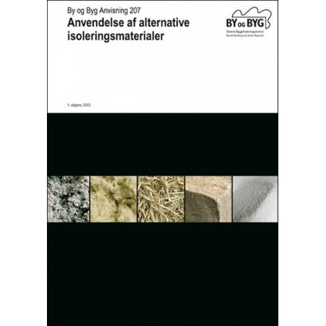 Anvendelse af alternative isoleringsmaterialer