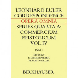 Correspondence of Leonhard Euler with Christian Goldbach: Volume 1