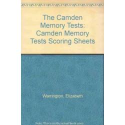 Camden Memory Tests Scoring Sheets