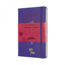 Moleskine Limited Edition Harry Potter Large Ruled Notebook: Book 5 Order of the Phoenix Brilliant Violet