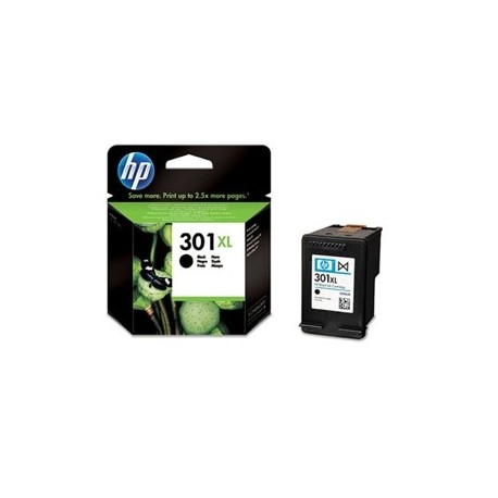 HP No301 XL black ink cartridge, blistered (CH563EE#301)