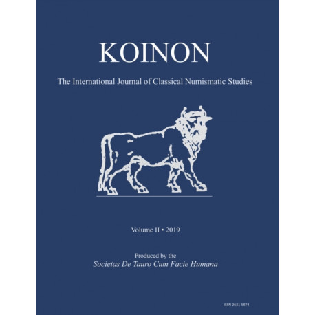 KOINON II, 2019: The International Journal of Classical Numismatic Studies