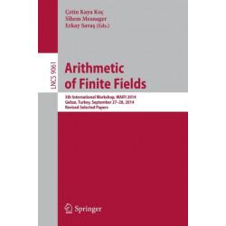 Arithmetic of Finite Fields: 5th International Workshop, WAIFI 2014, Gebze, Turkey, September 27-28, 2014. Revised Selected Papers