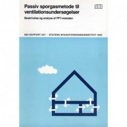 Passiv sporgasmetode til ventilationsundersøgelser: beskrivelse og analyse af PFT-metoden