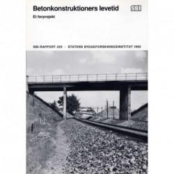 Betonkonstruktioners levetid: et forprojekt