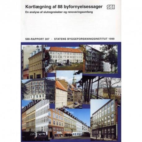 Kortlægning af 88 byfornyelsessager: en analyse af slutregnskaber og renoveringsomfang