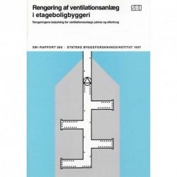 Rengøring af ventilationsanlæg i etageboligbyggeri: rengøringens betydning for ventilationsanlægs ydelse og elforbrug
