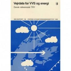 Vejrdata for VVS og energi: Dansk referenceår TRY