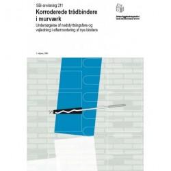 Korroderede trådbindere i murværk: undersøgelse af nedstyrtningsfare og vejledning i eftermontering af nye bindere
