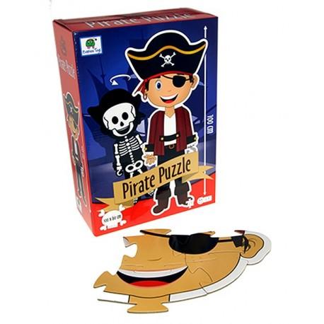 Pirat gulvpuslespil