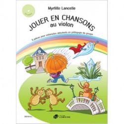 JOUER EN CHANSONS AU VIOLON