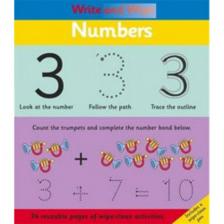 Write and Wipe: Numbers