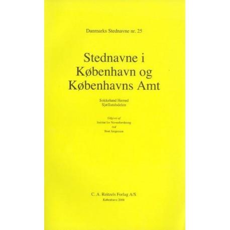 Danmarks stednavne - Stednavne i København og Københavns Amt: Sokkelund Herred, Sjællandsdelen (Nr. 25)