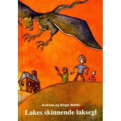 Lakes skinnende laksegl