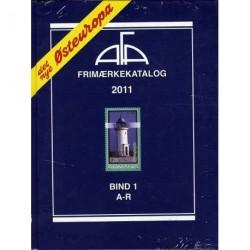 AFA Østeuropa frimærkekatalog - A-R (Årgang 2011, bind 1)
