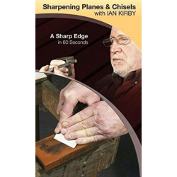 Sharpening Planes & Chisels with Ian Kirby : A Sharp Edge in 60 Seconds