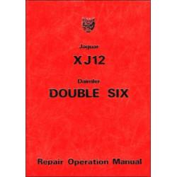 Jaguar XJ12 and Daimler Double Six Series 2 Repair Operation Manual