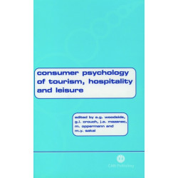 Consumer Psychology of Tourism, Hospitality and Leisure, Volume 1