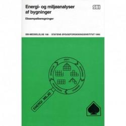 Energi- og miljøanalyse af bygninger: eksempelberegninger