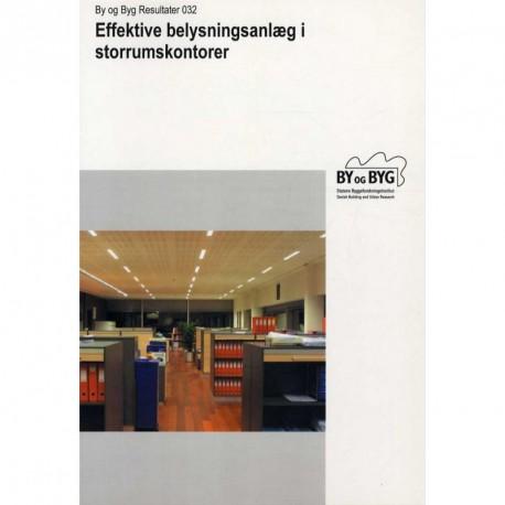 Effektive belysningsanlæg i storrumskontorer