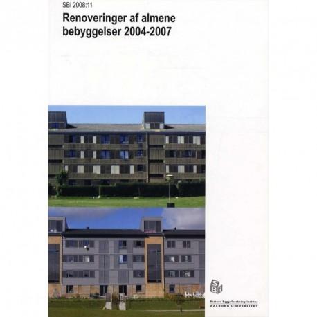 Renoveringer af almene bebyggelser 2004-2007