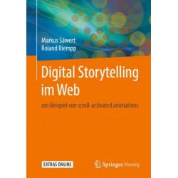 Digital Storytelling im Web: am Beispiel von scroll-activated animations