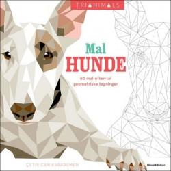 Mal hunde: 60 mal-efter-tal geometriske tegninger