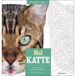 Mal katte: 60 mal-efter-tal geometriske tegninger