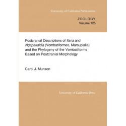 Postcranial Descriptions of  Ilaria and  Ngapakaldia (Vombatiformes, Marsupialia) and the Phylogeny of the Vombatiforms Based on Postcranial Morphology