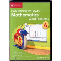 Cambridge Primary Mathematics Stage 4 Word Problems DVD-ROM