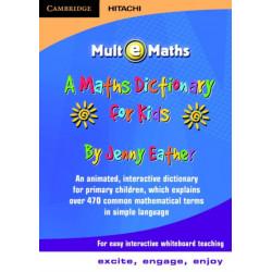 A Maths Dictionary for Kids CD-ROM: Mult-e-Maths UK