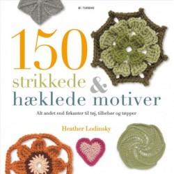 150 strikkede og hæklede motiver