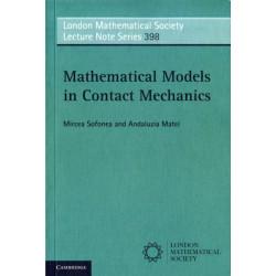 Mathematical Models in Contact Mechanics
