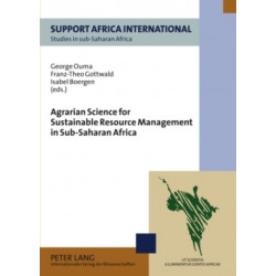 Agrarian Science for Sustainable Resource Management in Sub-Saharan Africa