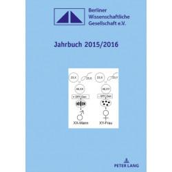 Jahrbuch 2015/2016- Herausgegeben im Auftrag des Vorstandes von Martin Heger: Herausgegeben Im Auftrag Des Vorstandes Von Martin Heger