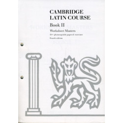 Cambridge Latin Course Book II Worksheet Masters