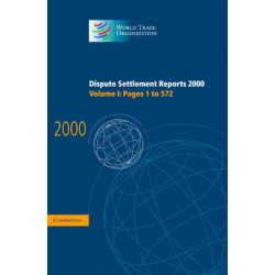 Dispute Settlement Reports 2000: Volume 1, Pages 1-572