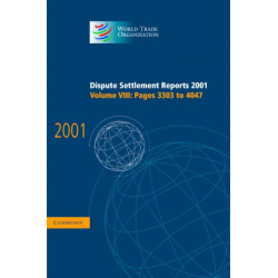 Dispute Settlement Reports 2001: Volume 8, Pages 3303-4047