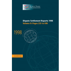 Dispute Settlement Reports 1998: Volume 2, Pages 233-696