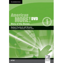 American More! Level 1 DVD (NTSC): Story of the Stones