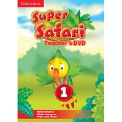 Super Safari Level 1 Teacher's DVD