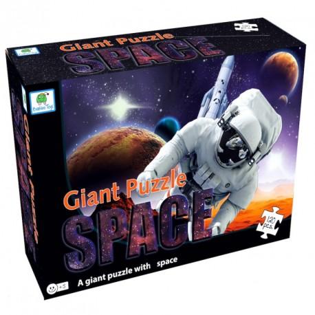 Space gulvpuslespil