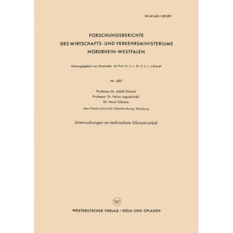 Untersuchungen an Technischem Siliziumcarbid