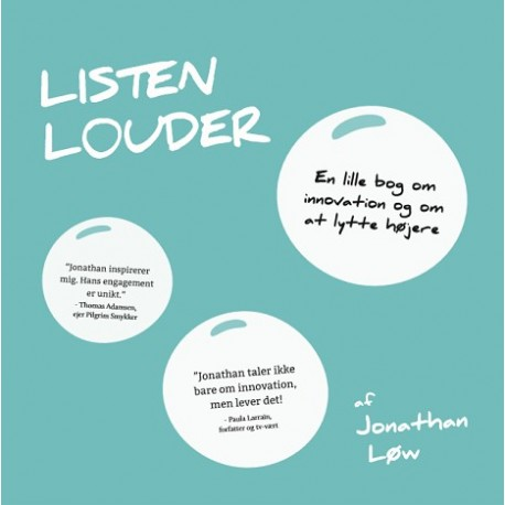 Listen Louder: en lille bog om at lytte højere