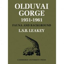 Olduvai Gorge 5 Volume Paperback Set
